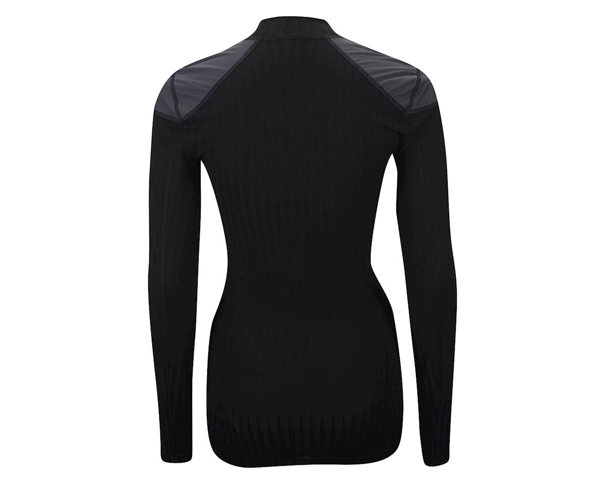 Craft Women's Active Extreme 2.0 Windstopper Crew Neck Long Sleeve Baselayer (Black)