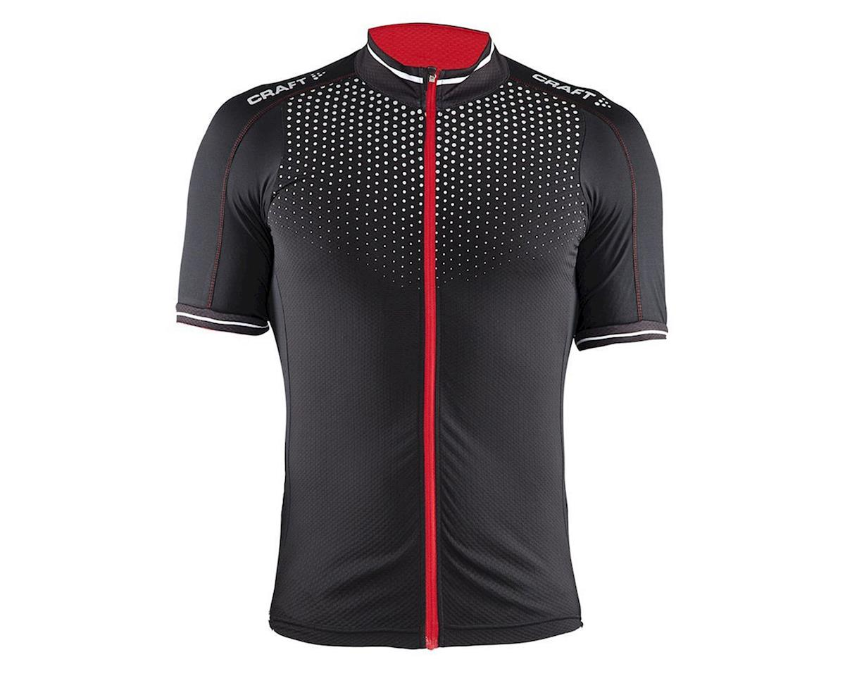 Craft Men's Glow Jersey (Black/Bright Red/White)