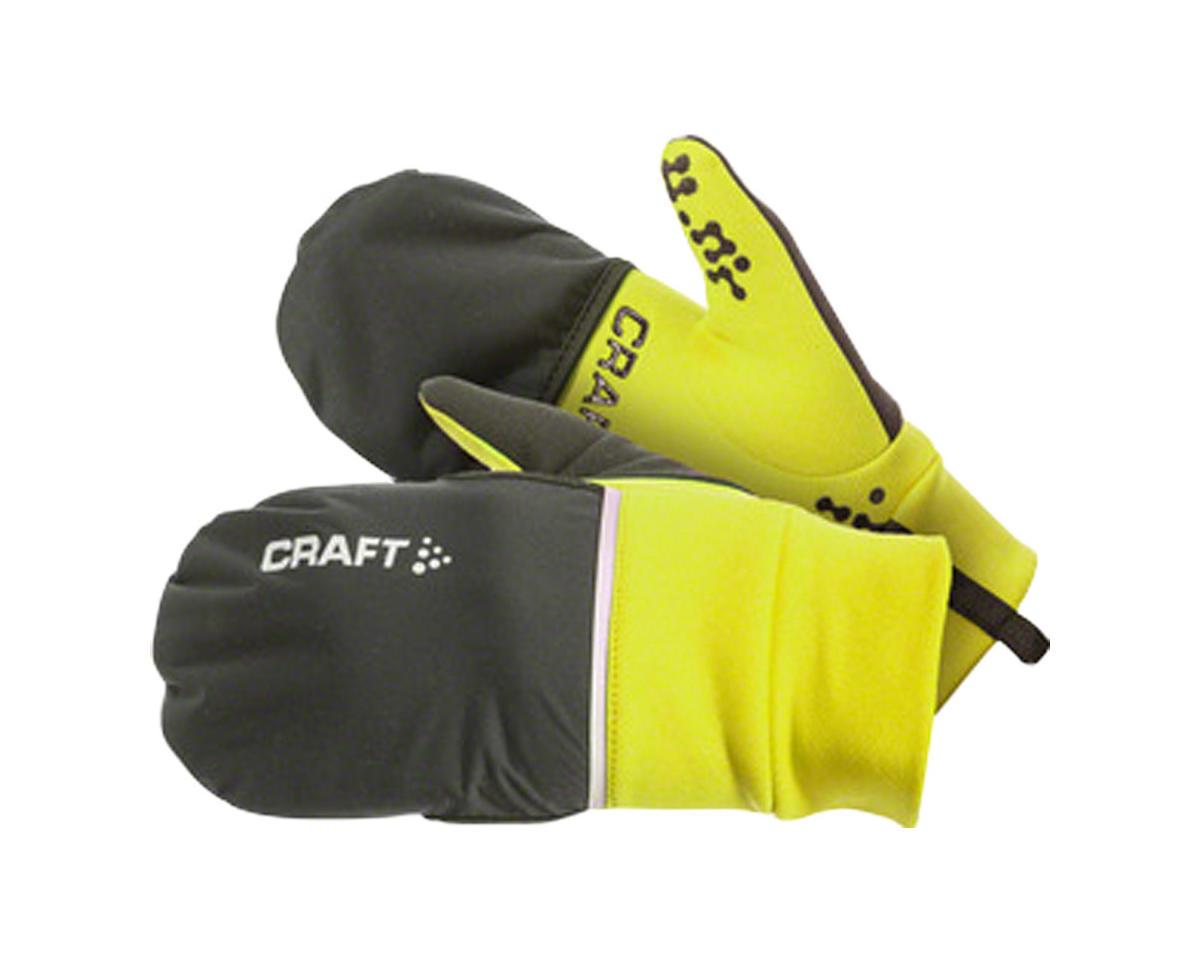 Craft Hybrid Weather Gloves (Black) (M)