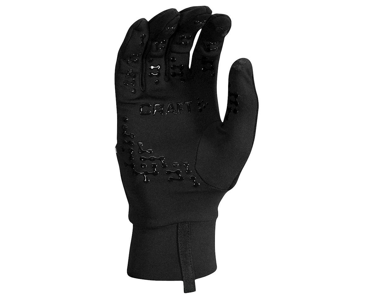 Craft Hybrid Weather Gloves (Black) (2XL)