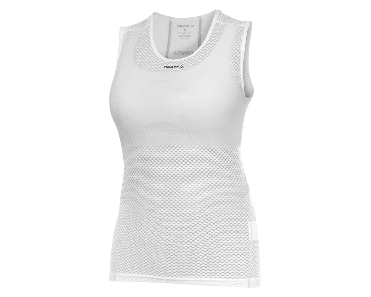 Craft Women's Cool Superlight Sleeveless Base Layer Top: White XL (XS)