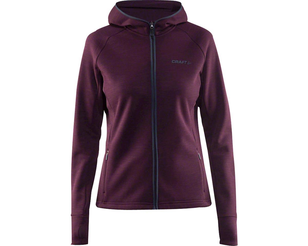 Craft Warm Women's Hooded Jacket (Purple) (LG)