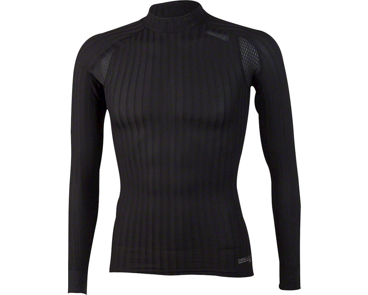 Craft Active Extreme 2.0 Men's Crewneck Long Sleeve Top: Black SM