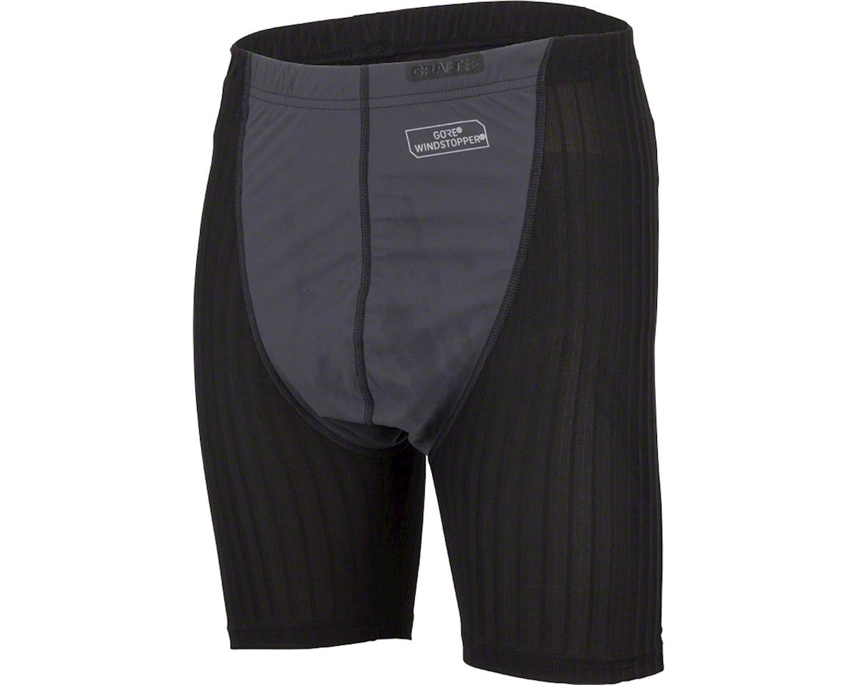 Craft Active Extreme 2.0 Men's Wind Stopper Boxer (Black) (L)