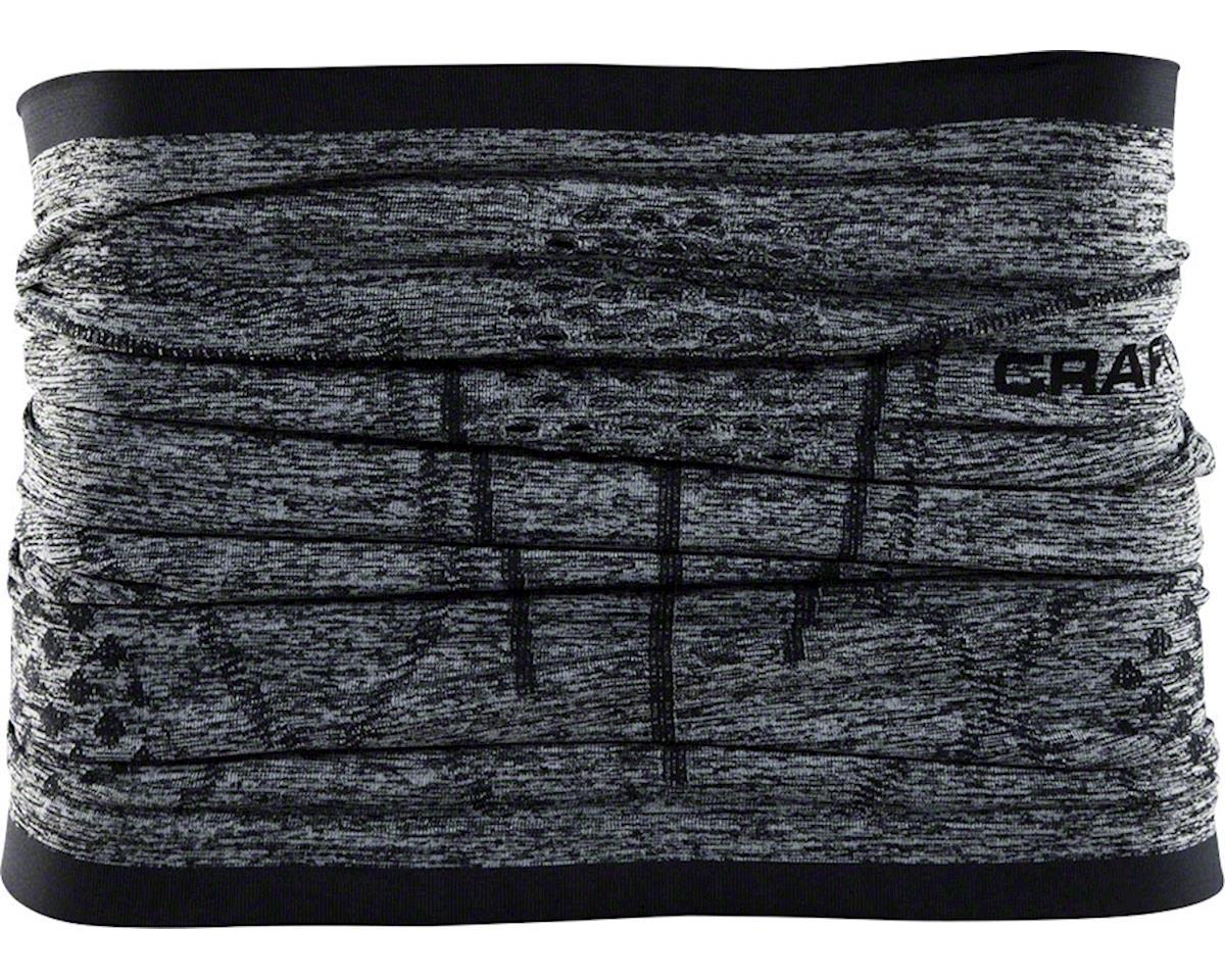 Craft Active Comfort Neck Warmer: Black Melange One Size