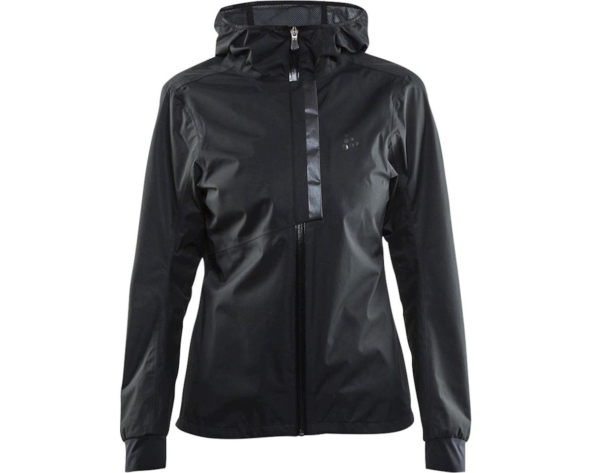 Craft Ride Women's Rain Jacket: Black LG