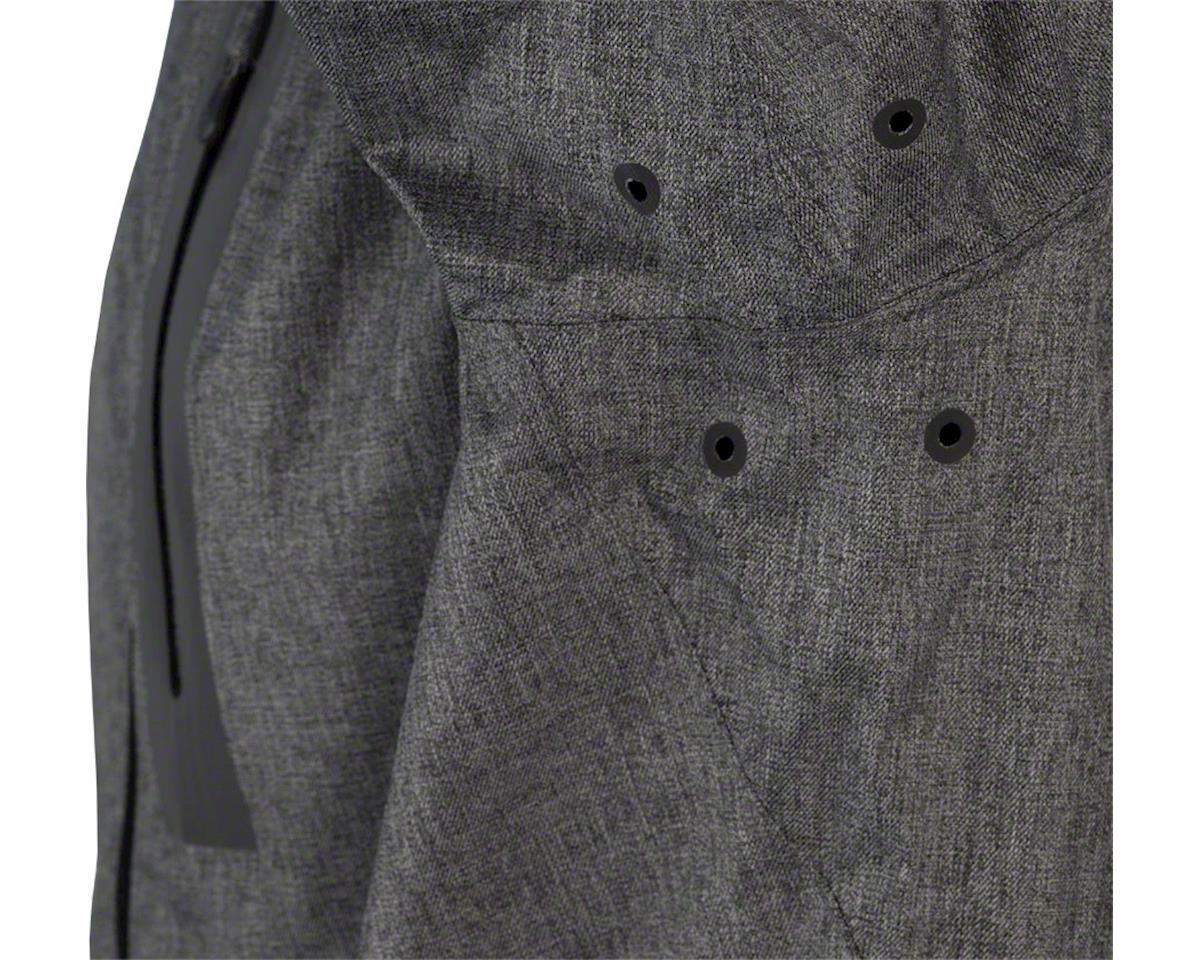 Craft Ride Men's Rain Jacket (Gray Melange) (L)
