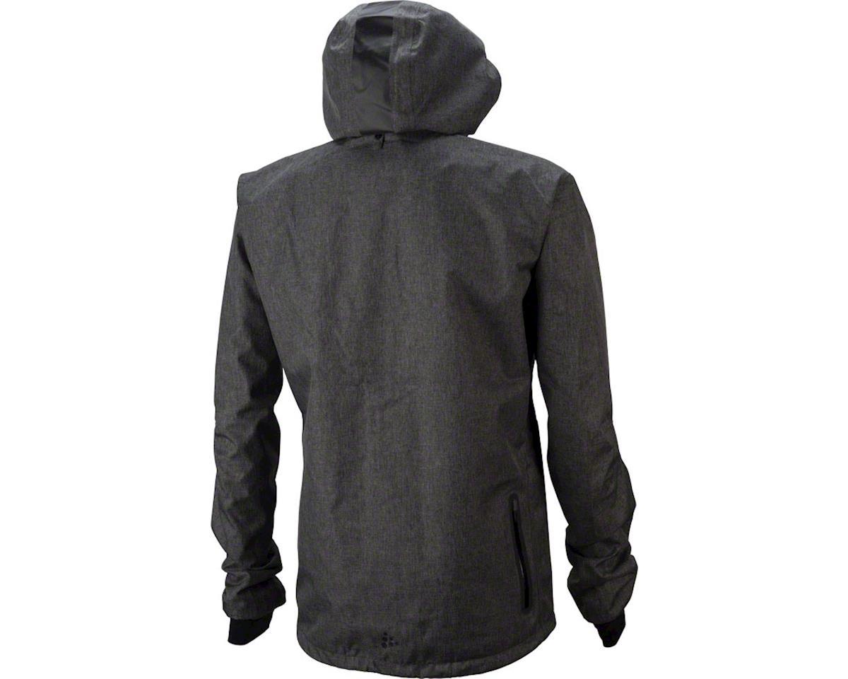 Craft Ride Men's Rain Jacket: Gray Melange XL (M)