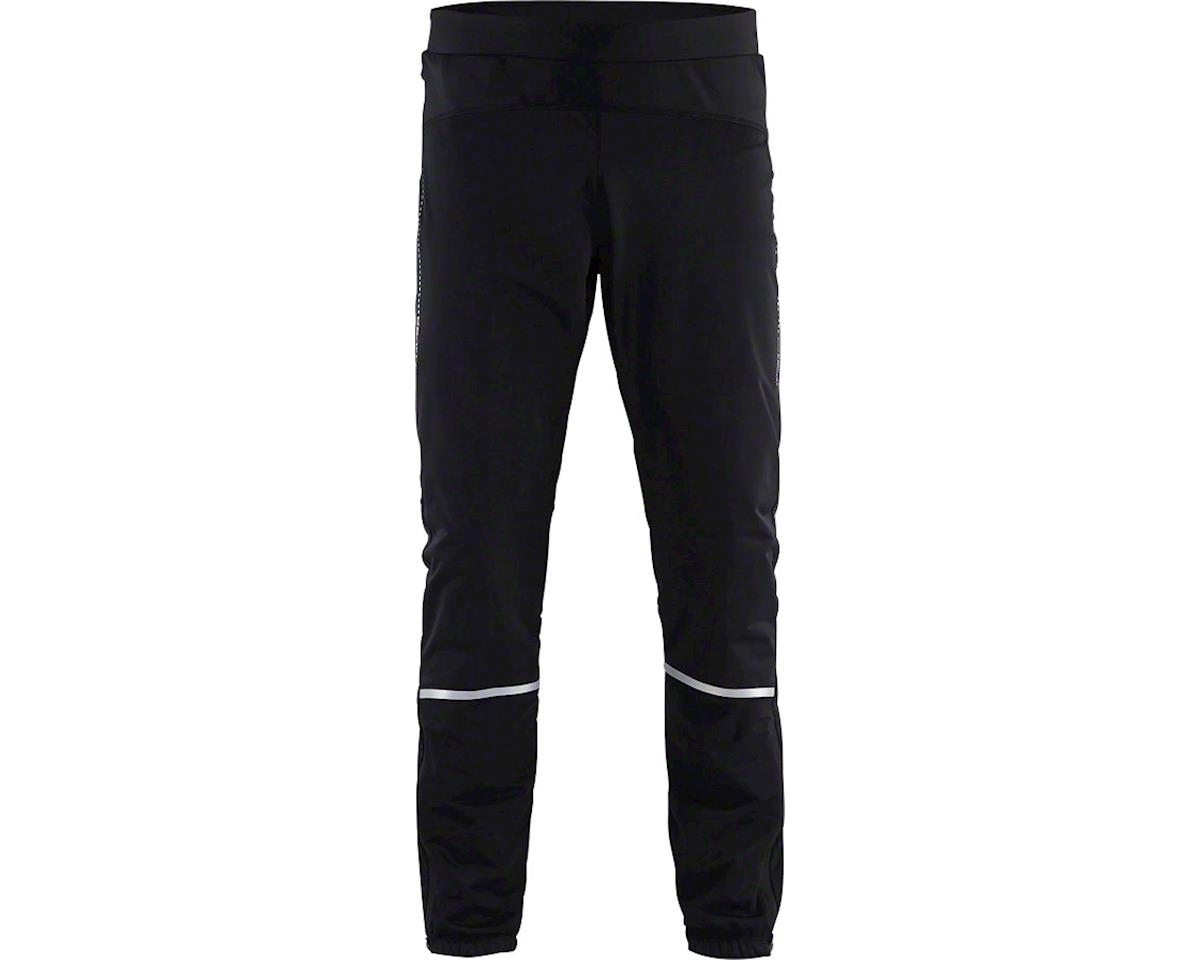 Craft Essential Men's Winter Pants: Black MD