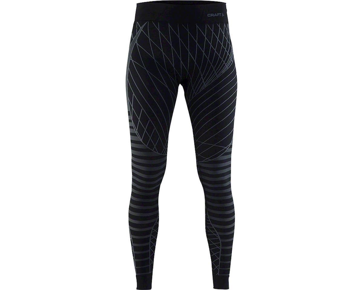 Craft Active Intensity Women's Base Layer Pant (Black/Granite) (L)
