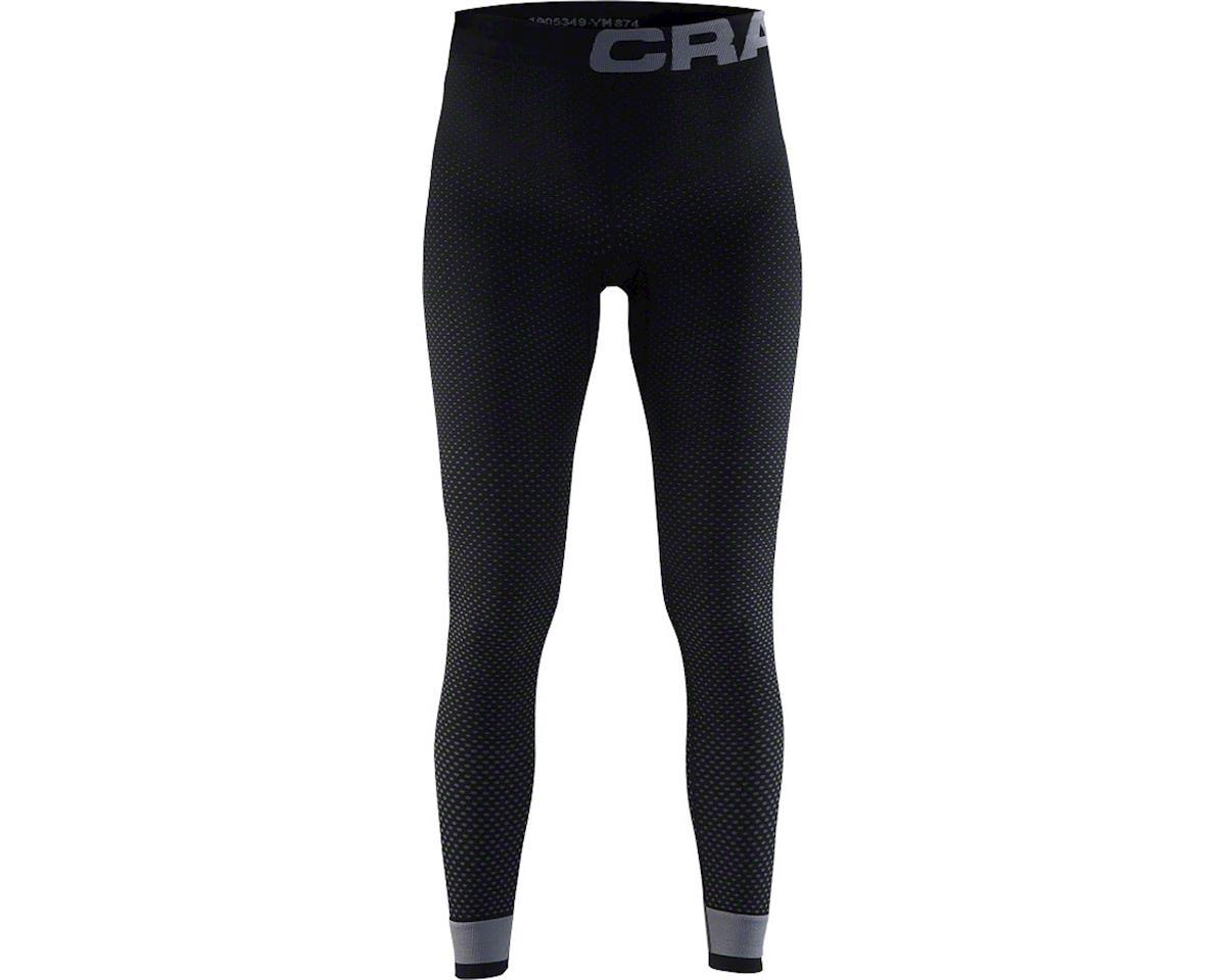 Craft Warm Intensity Women's Base Layer Pant (Black/Granite) (L)
