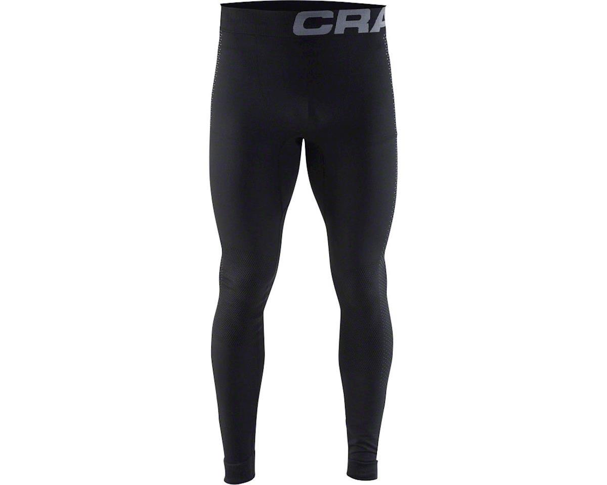 Craft Warm Intensity Men's Base Layer Pant: Black/Granite XL