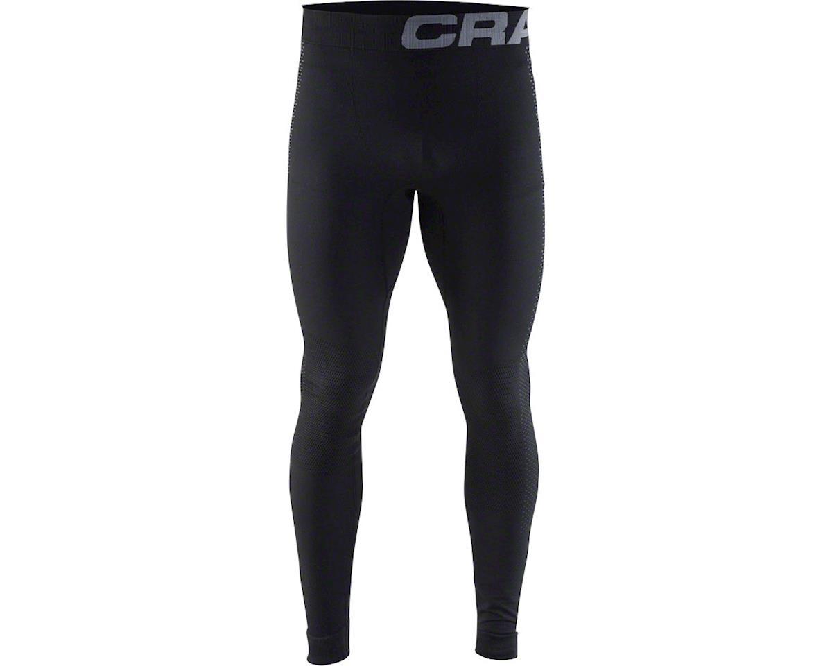 Warm Intensity Men's Base Layer Pant: Black/Granite XL
