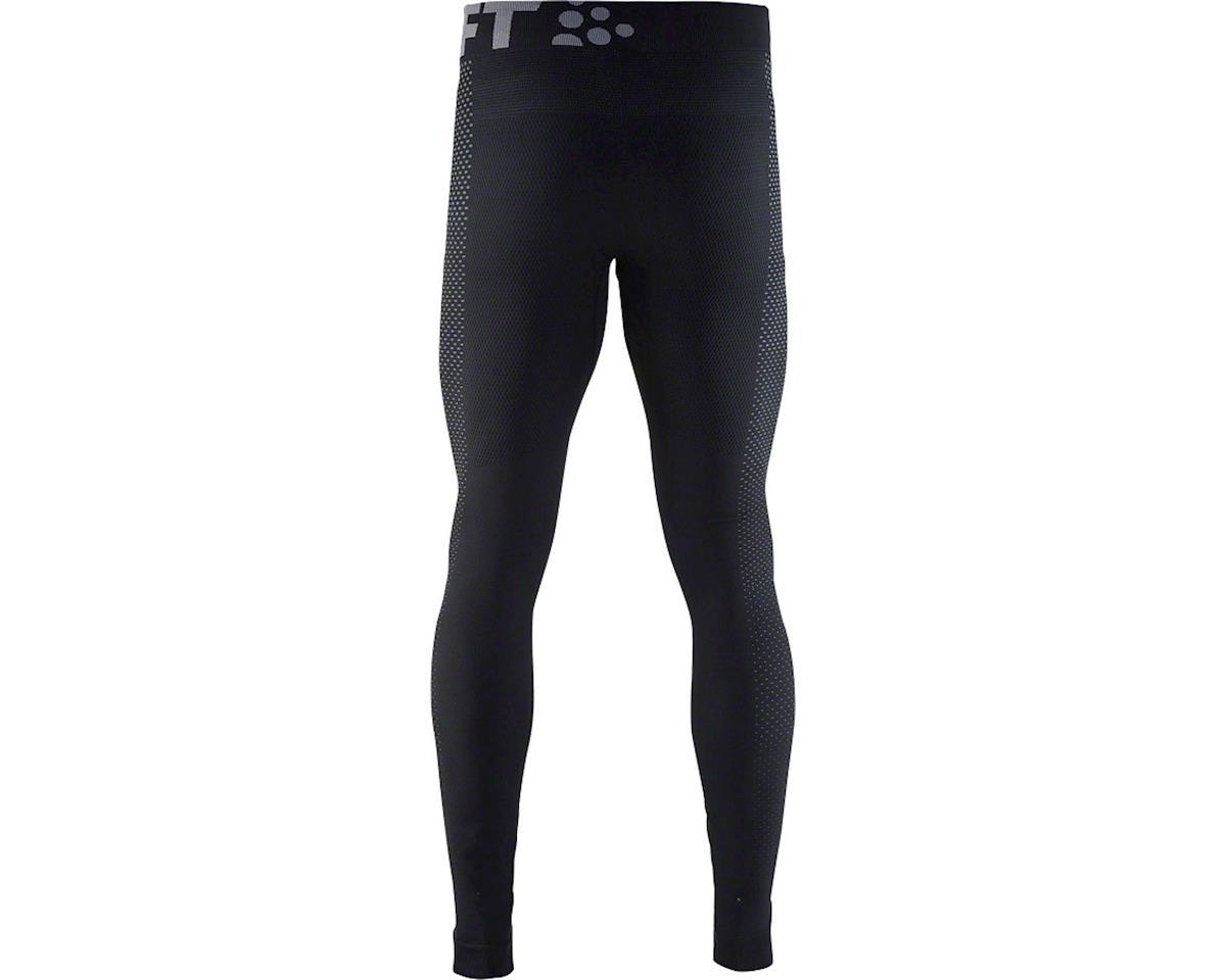 Craft Warm Intensity Men's Base Layer Pant (Black/Granite) (XL)