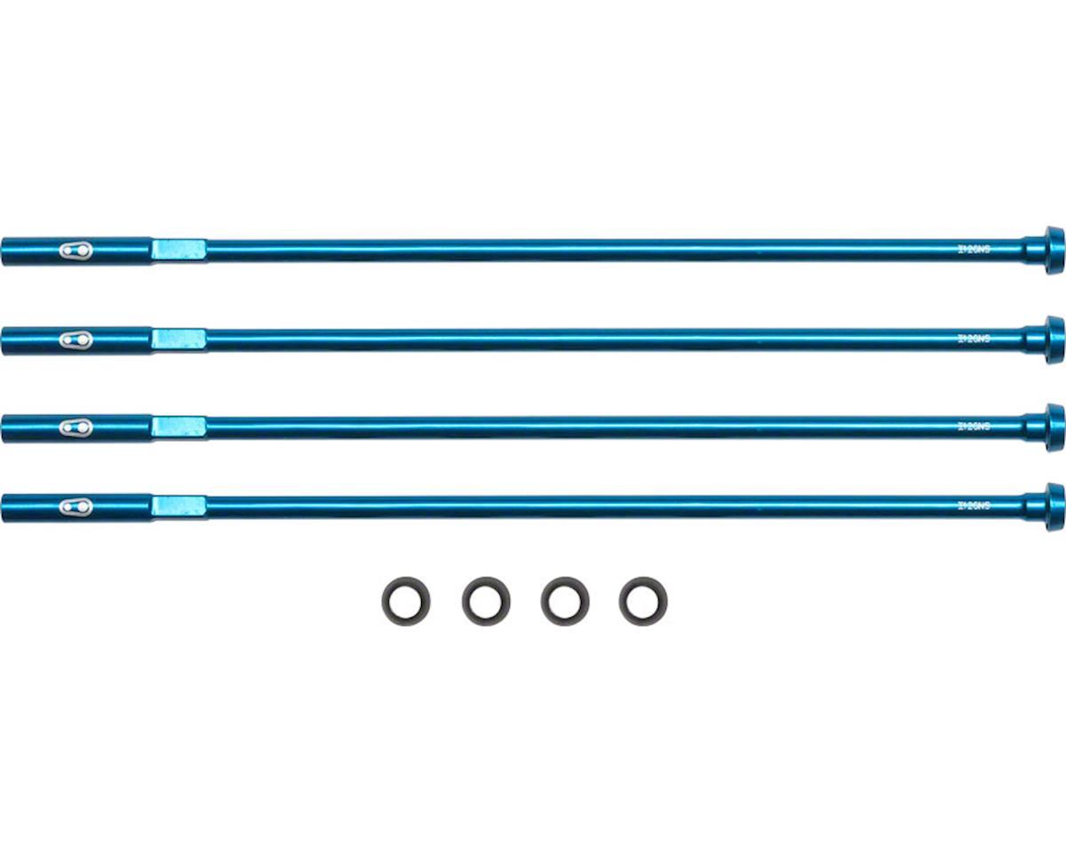 Crankbrothers Nipple Kit (Blue) (139mm/3.2mm Nipples)