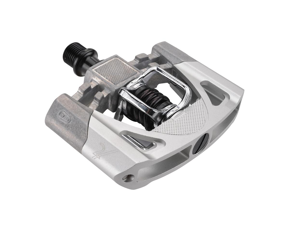 Crankbrothers Mallet 2 Pedals (Raw/Silver w/ Black Spring)