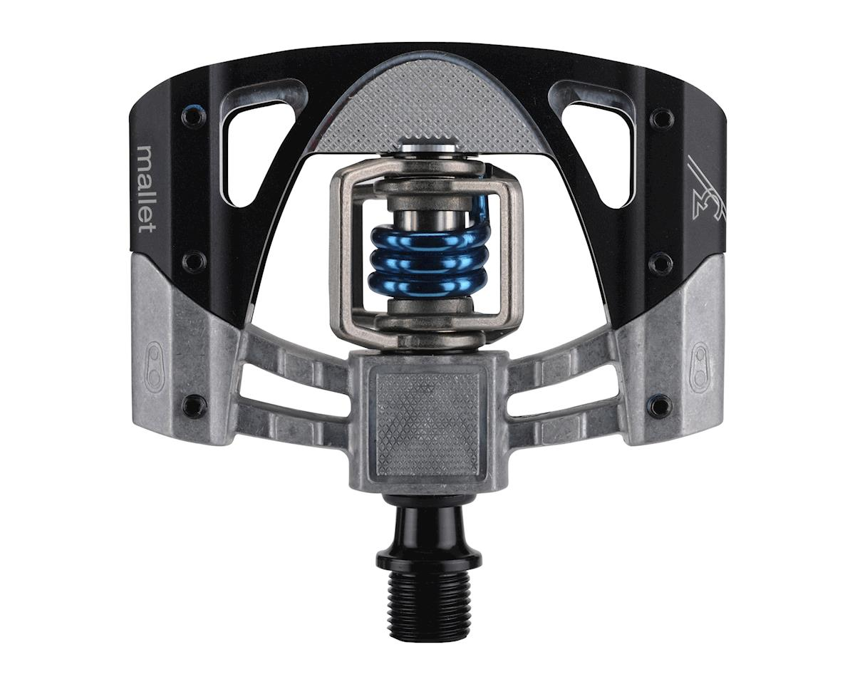 Crankbrothers Mallet 3 Pedals (Raw/Black w/ Blue Spring)