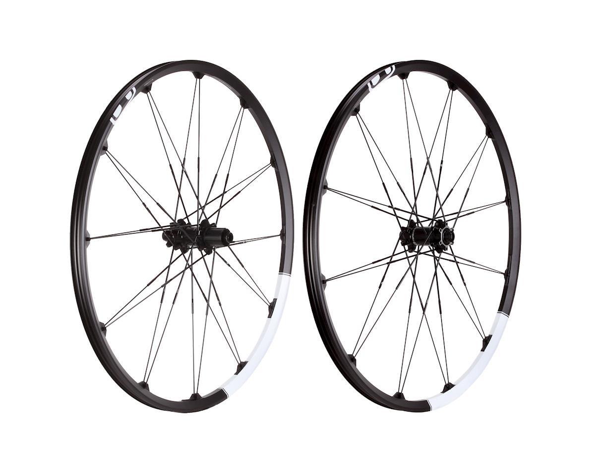 "Crankbrothers Cobalt-3 29"" wheelset, 15x110+12x148 Boost blk/wht"