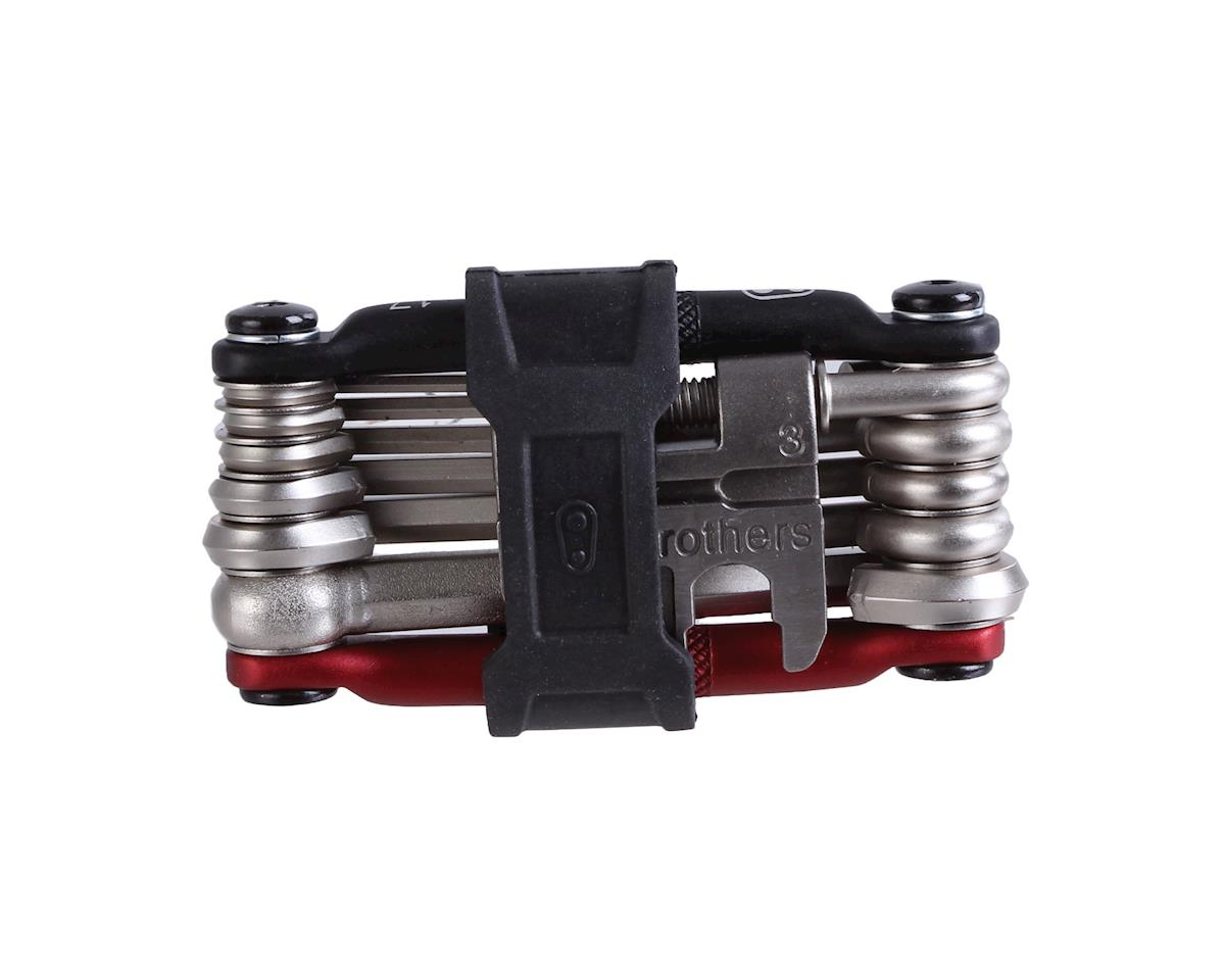 Crankbrothers Multi-17 Mini Tool (Black/Red)