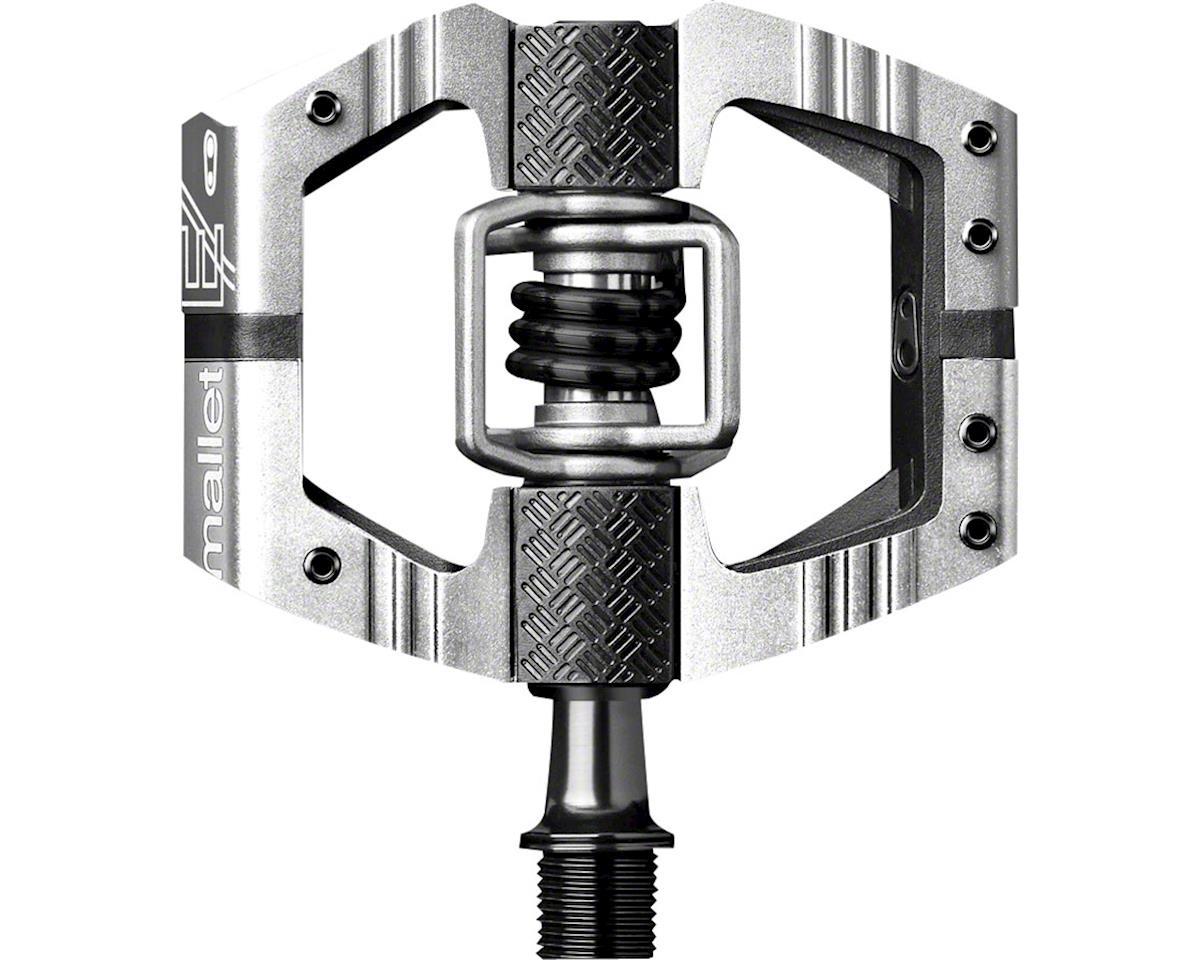 Crankbrothers Mallet E LS platform pedals, silver/black