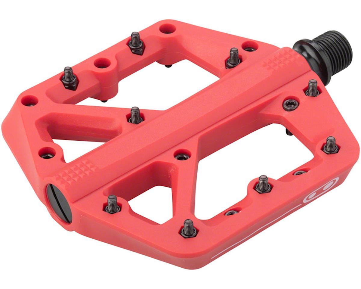 Crankbrothers Stamp 1 Platform Pedals (Red) (L)