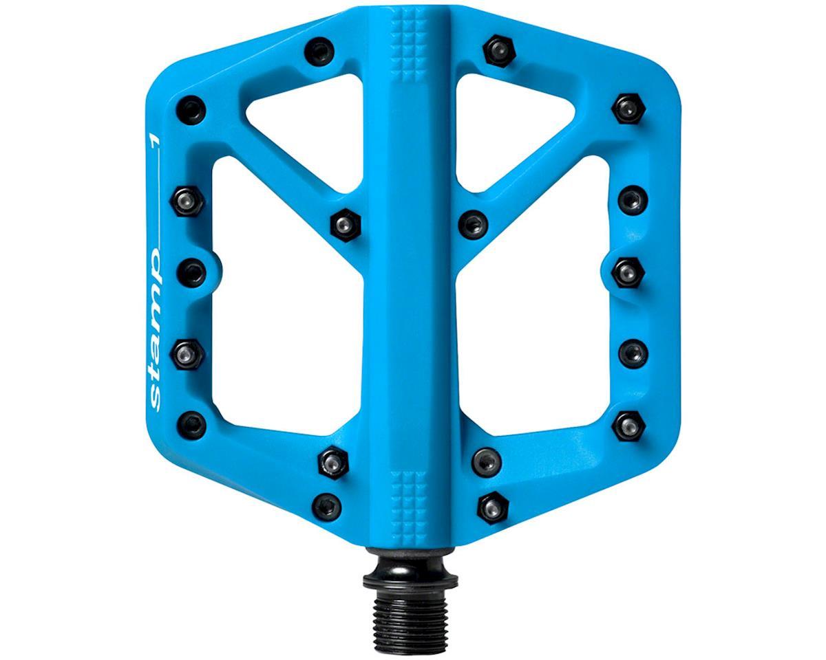 Crankbrothers Stamp 1 Platform Pedals (Blue) (S)