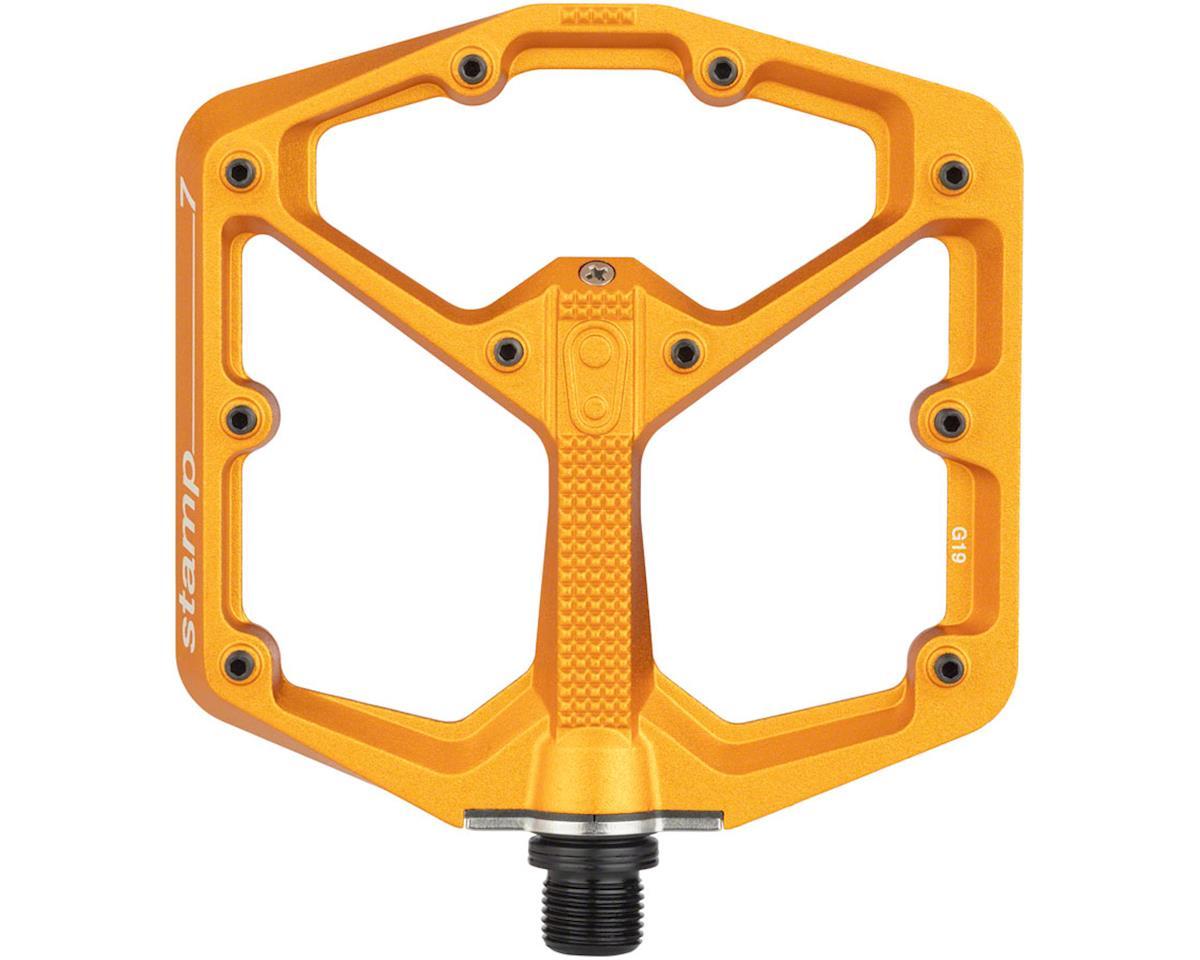 Crankbrothers Stamp 7 Platform Pedals (Orange) (L)