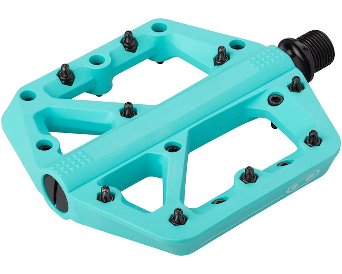 Crankbrothers Stamp 1 Platform Pedals (Turquoise)