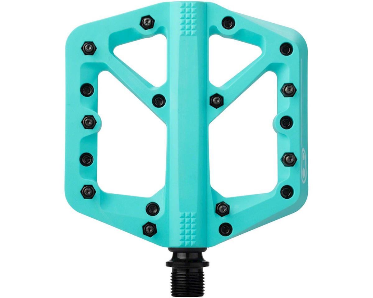Crankbrothers Stamp 1 Platform Pedals (Turquoise) (L)