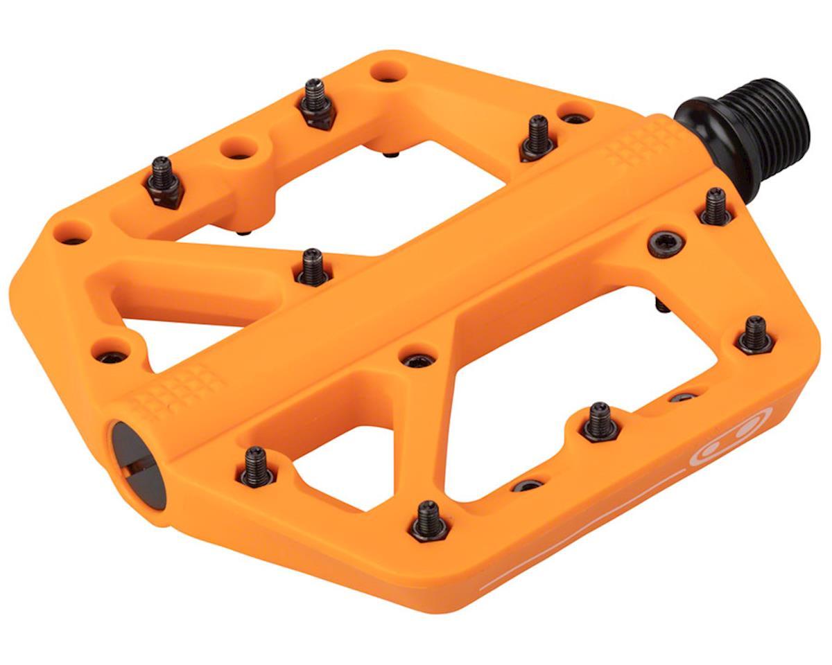 Crankbrothers Stamp 1 Platform Pedals (Orange) (L)
