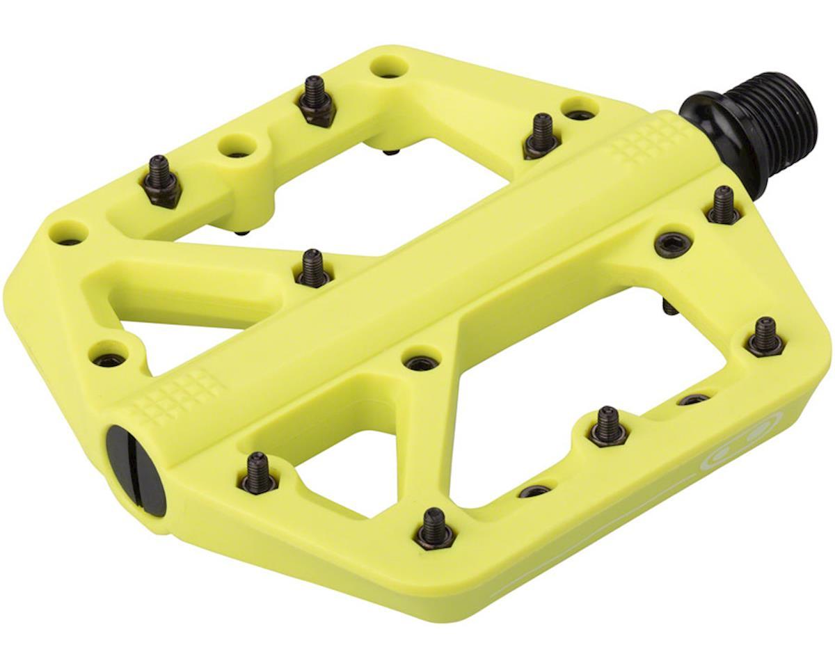 Crankbrothers Stamp 1 Platform Pedals (Citron) (L)