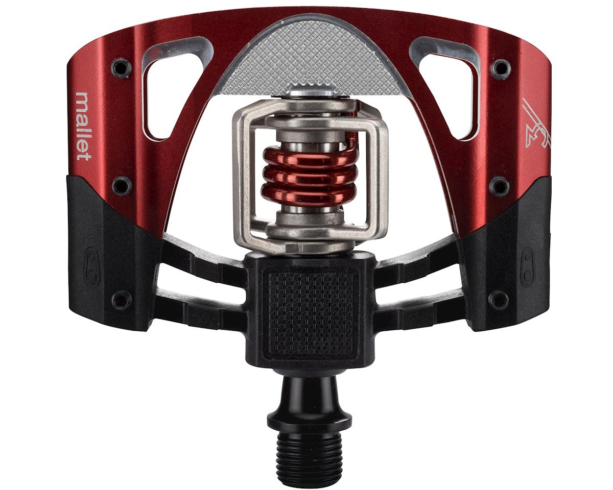 Crankbrothers Mallet 3 Mountain Bike Pedals (Black/Red)