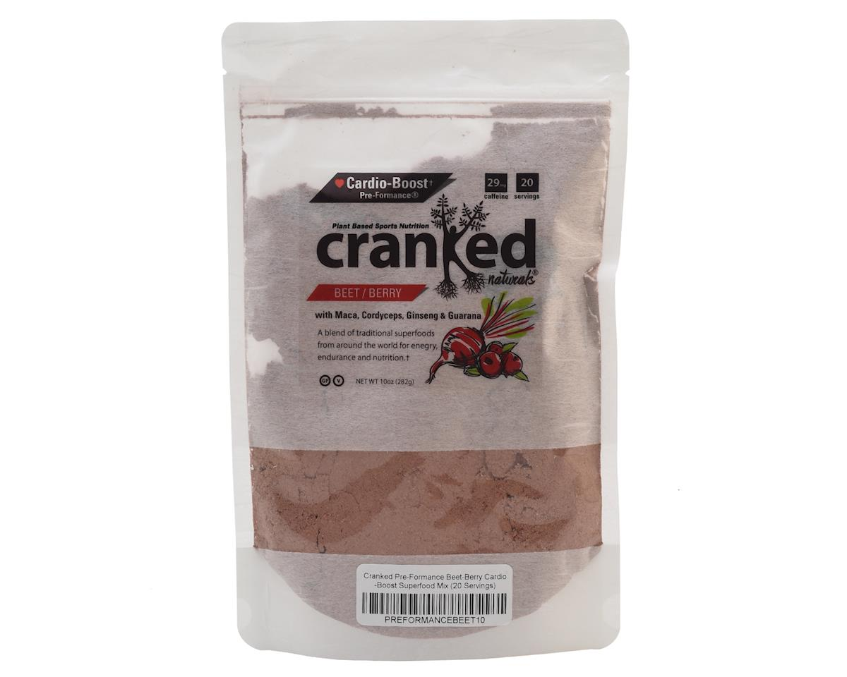 Cranked Pre-Formance Beet-Berry Cardio-Boost Mix (9.6oz/18 Servings)