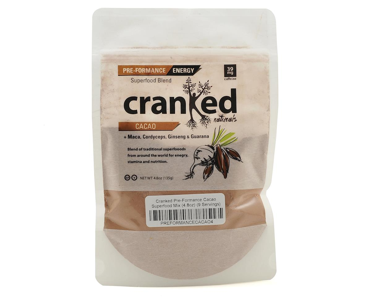 Cranked Pre-Formance Cardio-Boost Drink Mix (Cacao) (4.8oz)