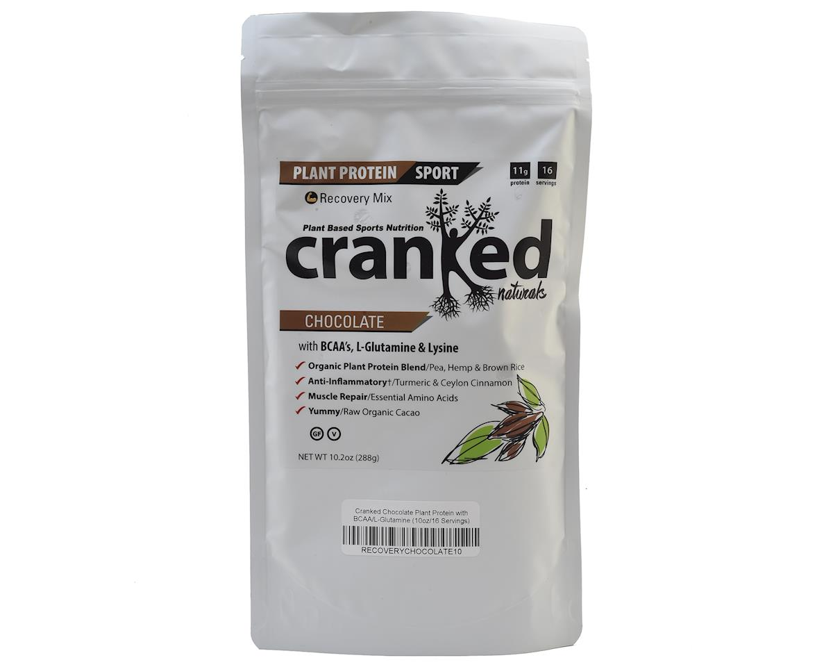 Cranked Plant Protein w/ BCAA & L-Glutamine (Chocolate) (1 10oz Packet)