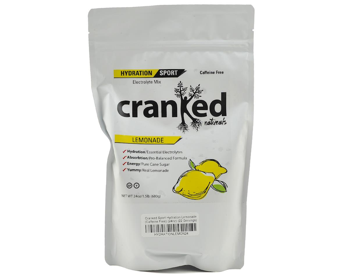 Cranked Sport Hydration Lemonade (Caffeine Free) (24oz/22 Servings)
