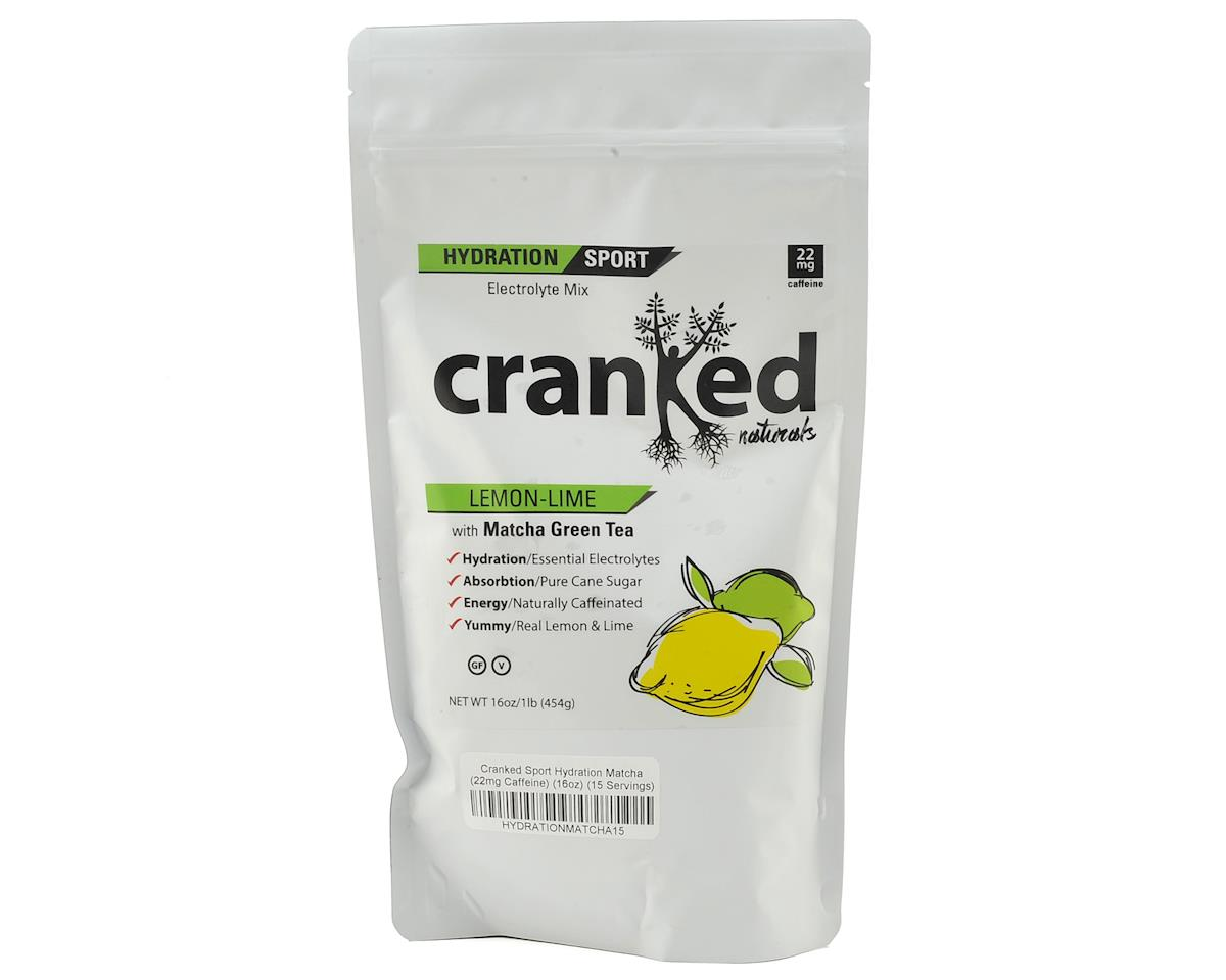 Cranked Hydration Sport Drink Mix (Lemonade) (16oz)