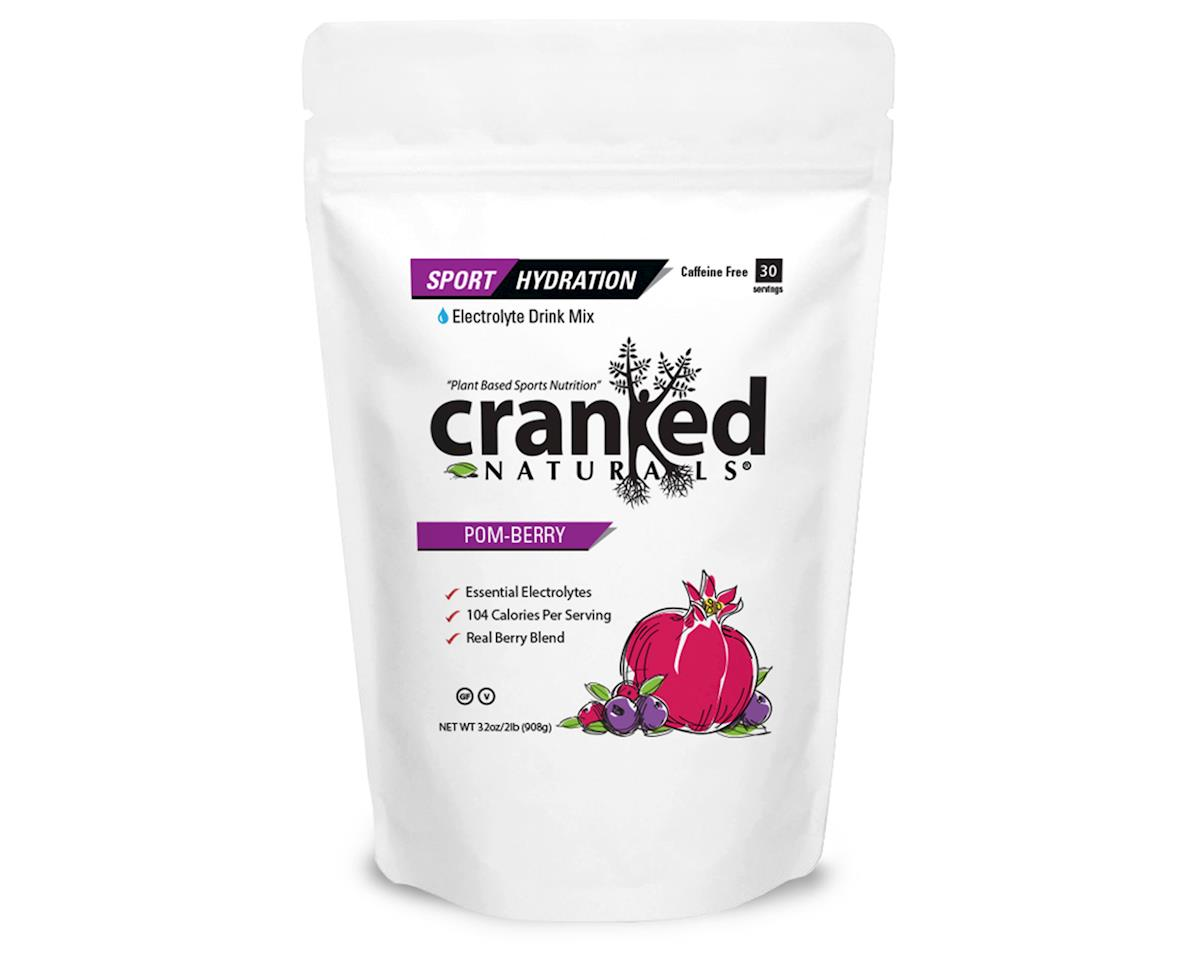 Cranked Sport Hydration Drink Mix (Pom-Berry) (32oz)