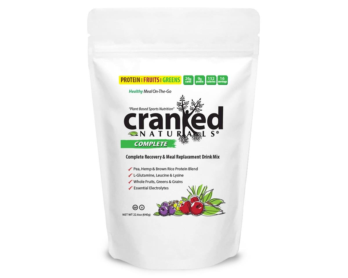Cranked Complete Recovery & Meal Replacement Supplement (22oz)