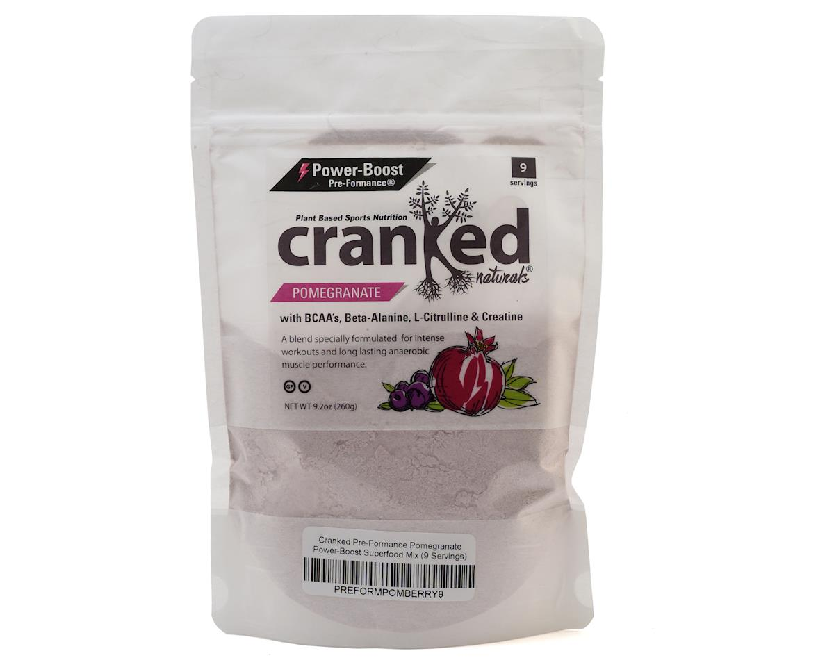 Cranked Pre-Formance Power-Boost Drink Mix (Pomegranate) (1 9oz Packet)