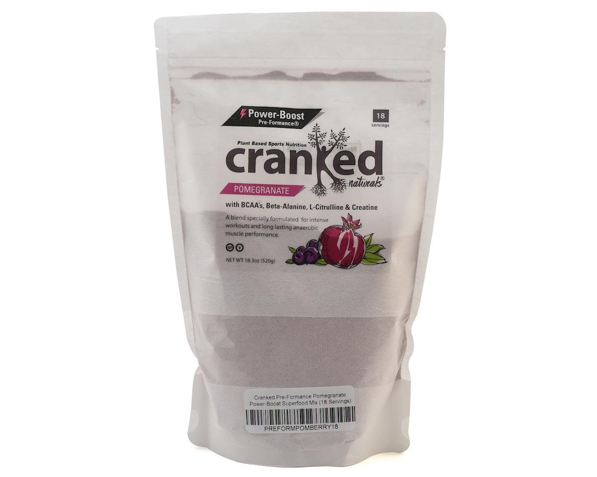 Cranked Pre-Formance Pomegranate Power-Boost Mix (18oz/20 Servings)