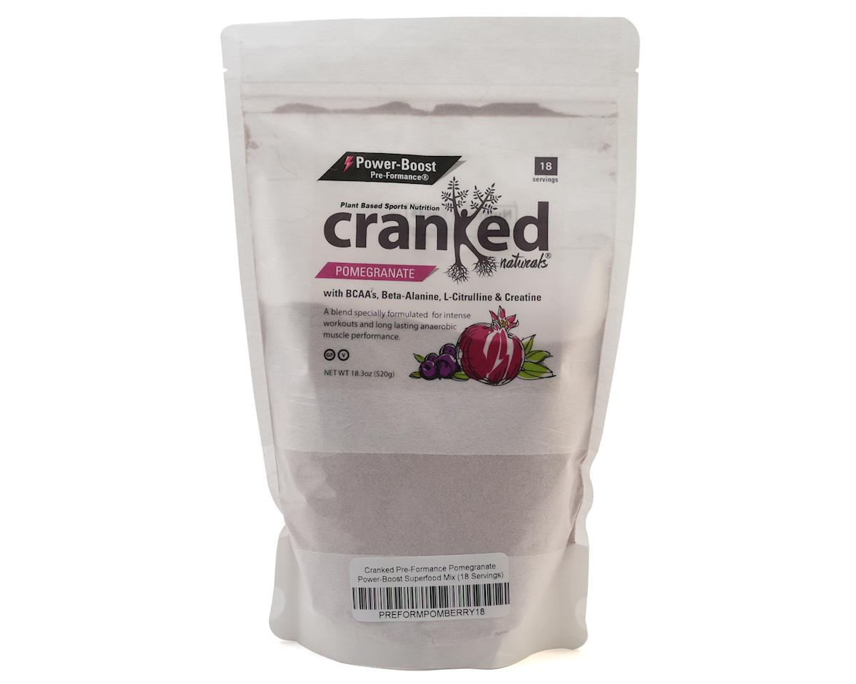 Cranked Pre-Formance Power-Boost Drink Mix (Pomegranate) (18oz)