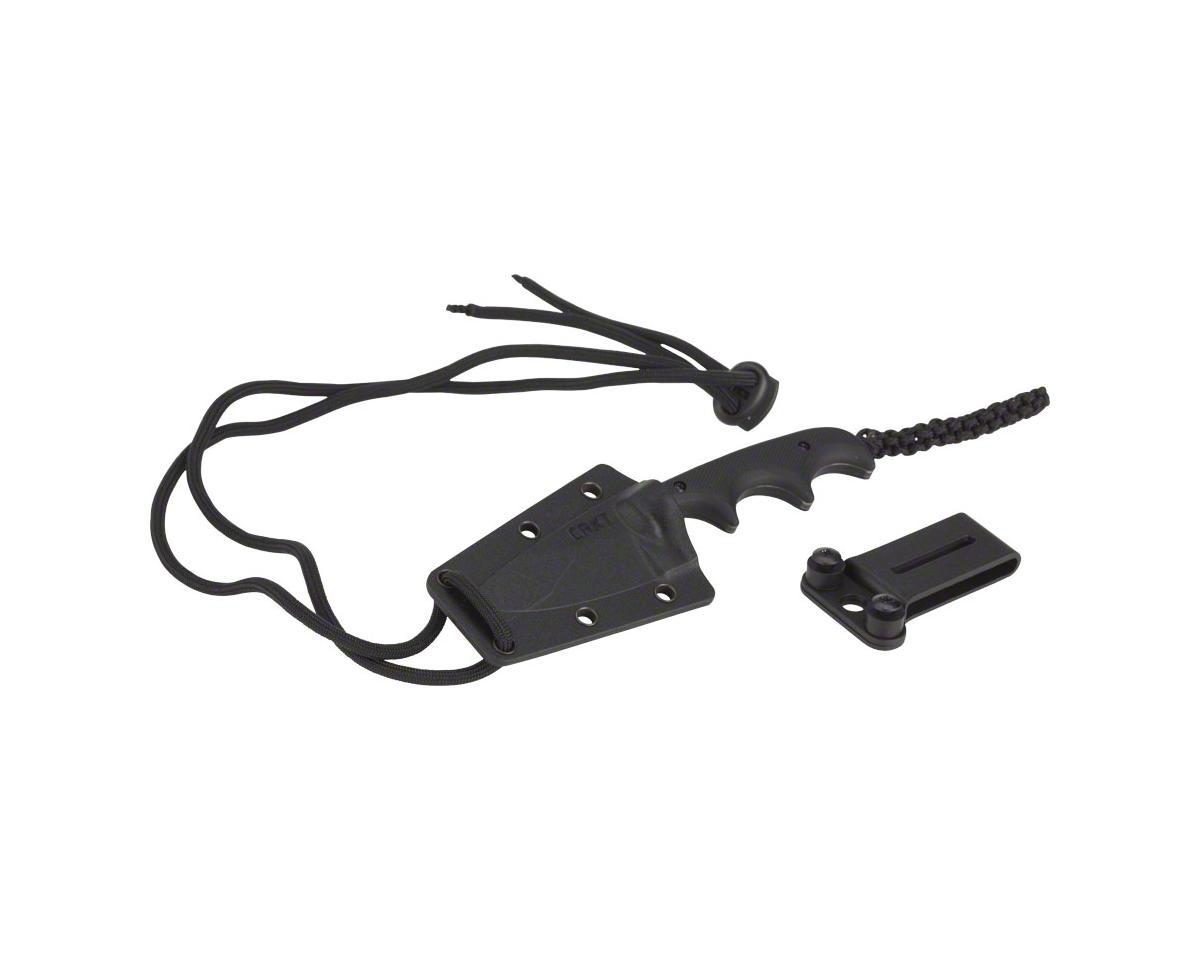 CRKT Minimalist Fixed Blade Knife, Black