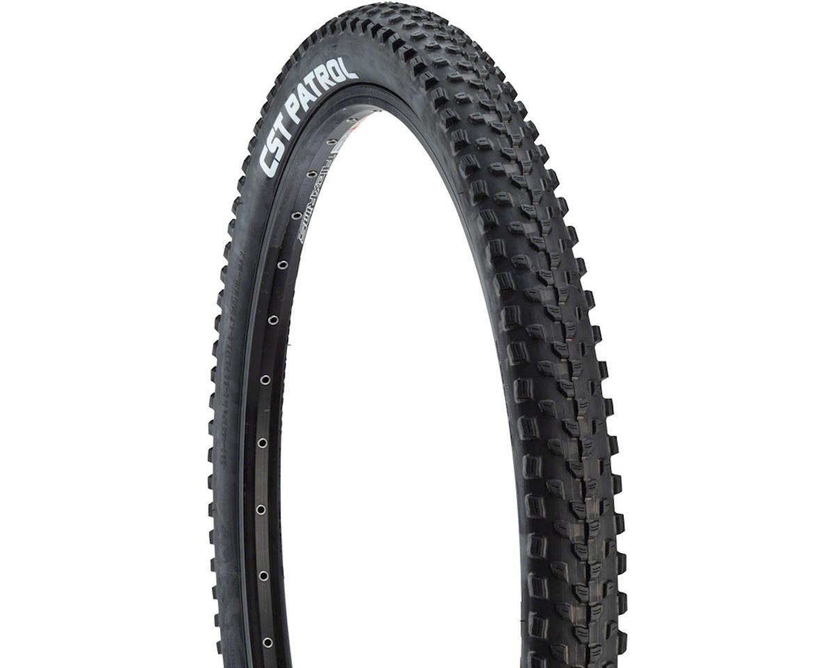 CST Patrol Tire 26 x 2.1 Single Compound, 27tpi, Steel Bead, Black