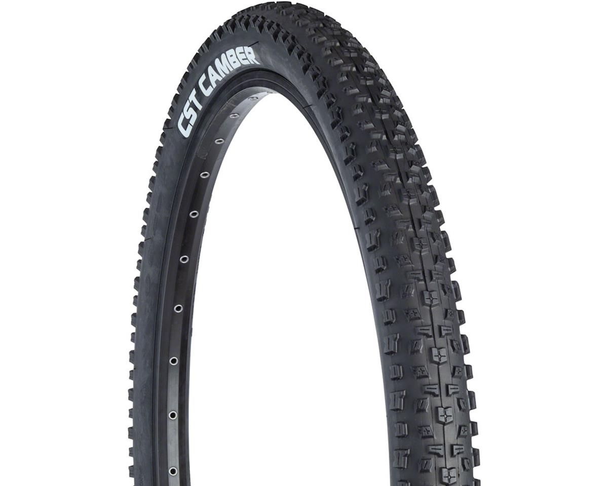 CST Camber Tire - 26 x 2.1, Clincher, Steel, Black, 27tpi