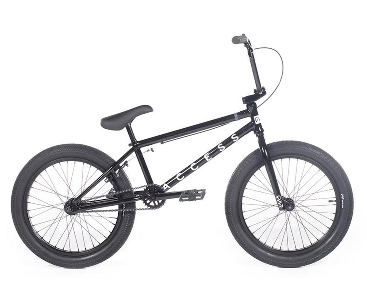 "Cult 2020 Access BMX Bike (20"" Toptube) (Black)"