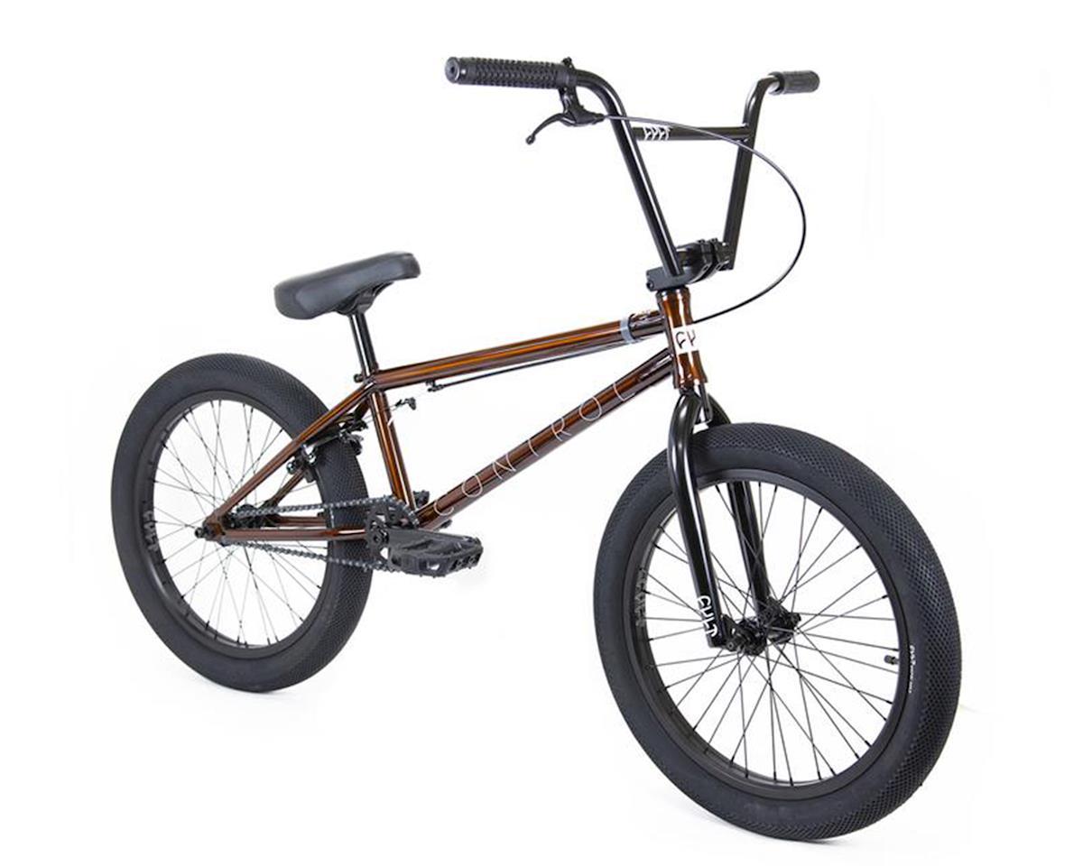 "Cult 2020 Control BMX Bike (20.75"" Toptube) (Trans Brown)"