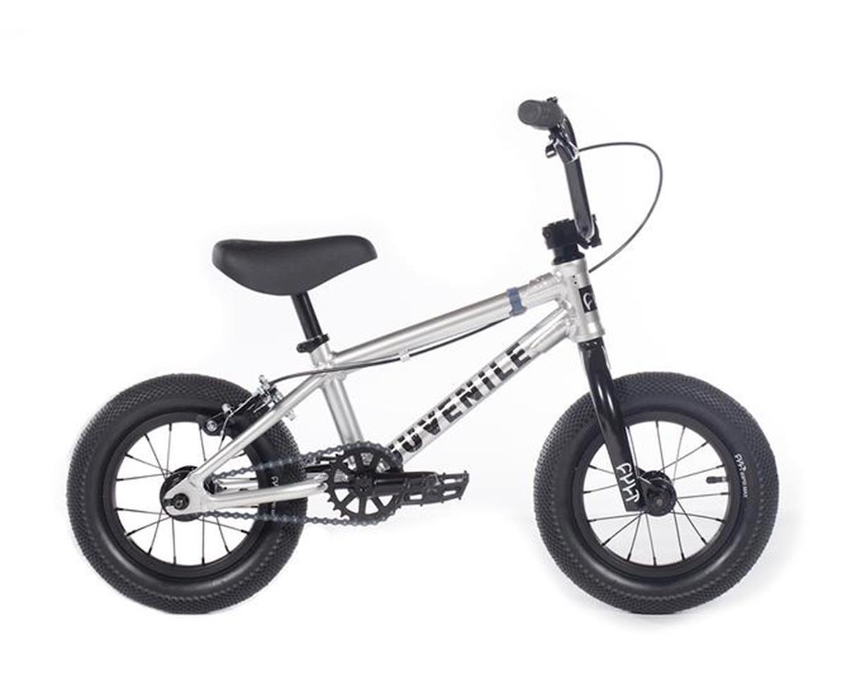 """Cult 2020 Juvenile 12"""" Bike (13.25"""" Toptube) (Silver)"""