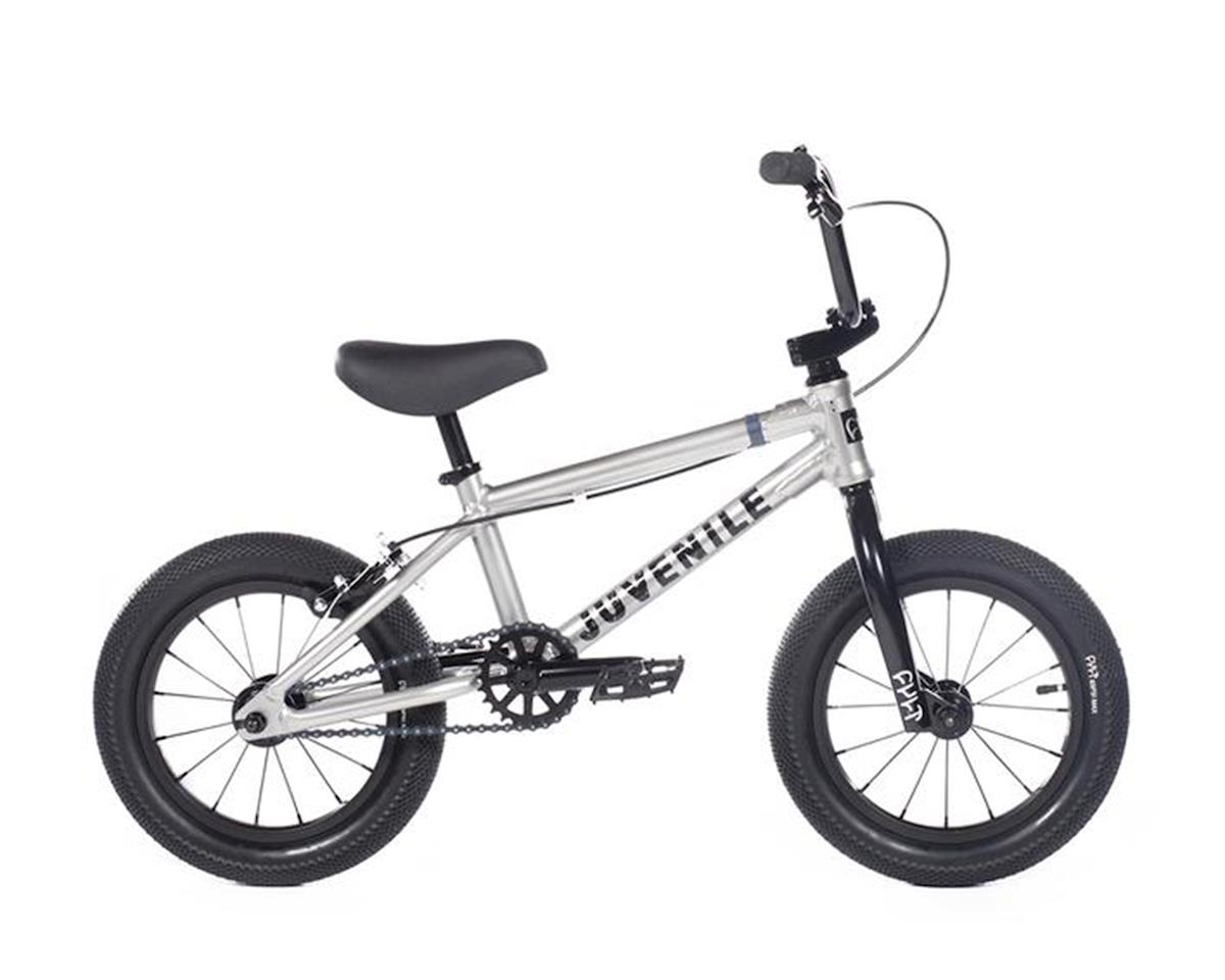 """Cult 2020 Juvenile 14"""" Bike (14.5"""" Toptube) (Silver)"""