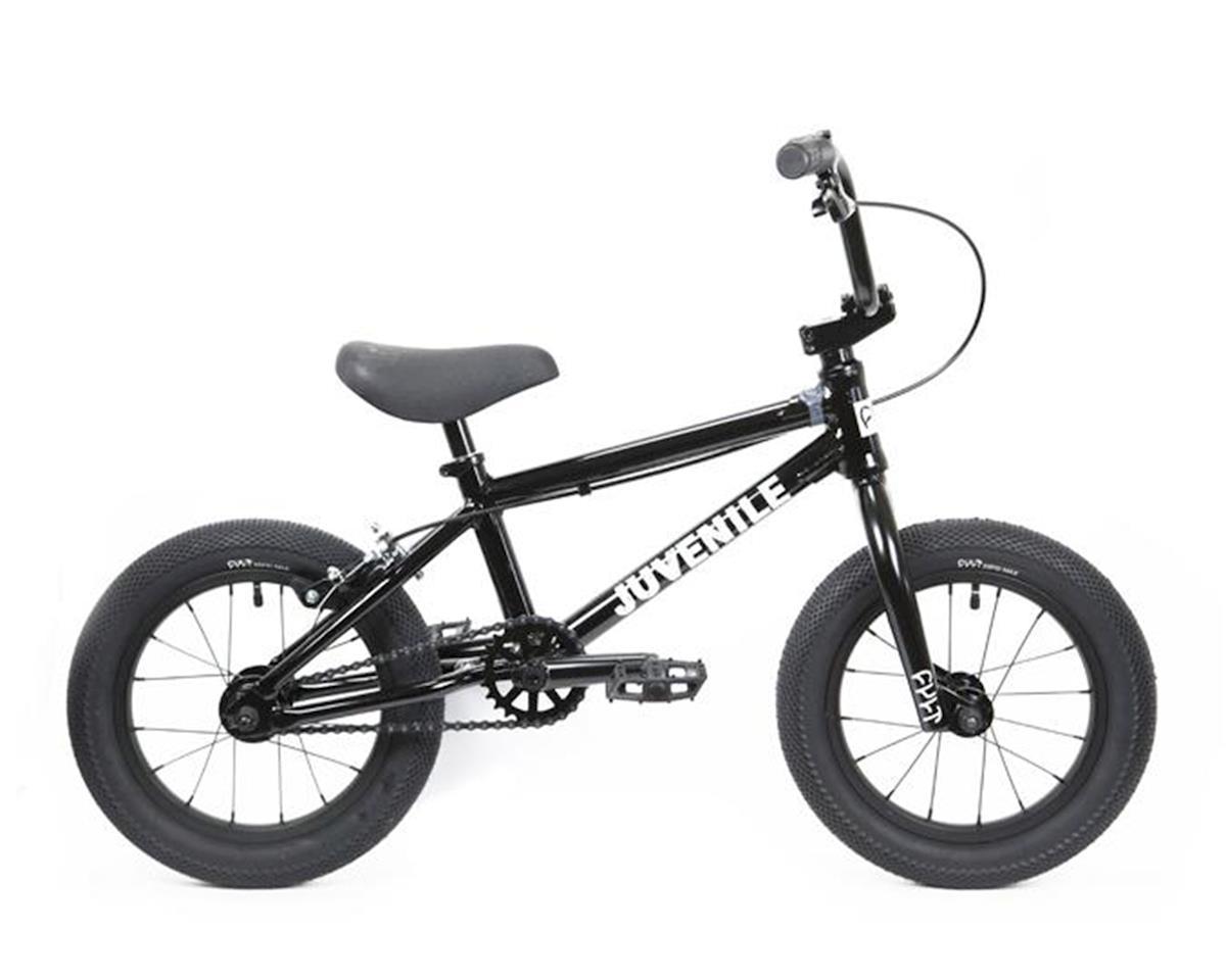 """Cult 2020 Juvenile 14"""" Bike (14.5"""" Toptube) (Black)"""